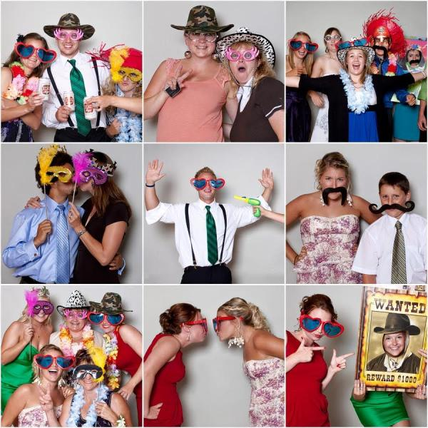 [Image: Kick up your party moments with our inventive party photo booth props!]